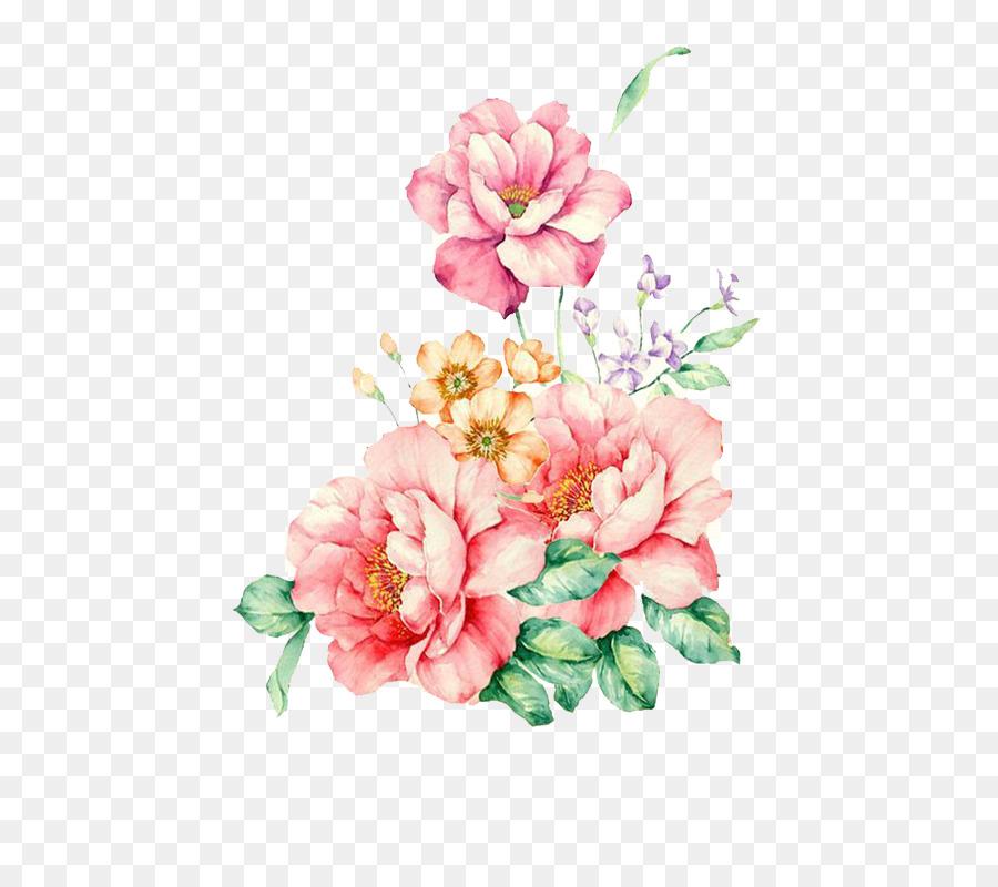 Cute Autumn Wallpaper Flower Watercolor Painting Floral Watercolor Png