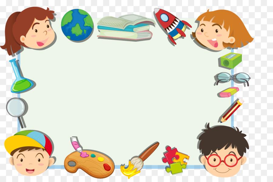 Cute Downloadable Wallpapers Child Cartoon Clip Art Cute Cartoon Kids Frame Png
