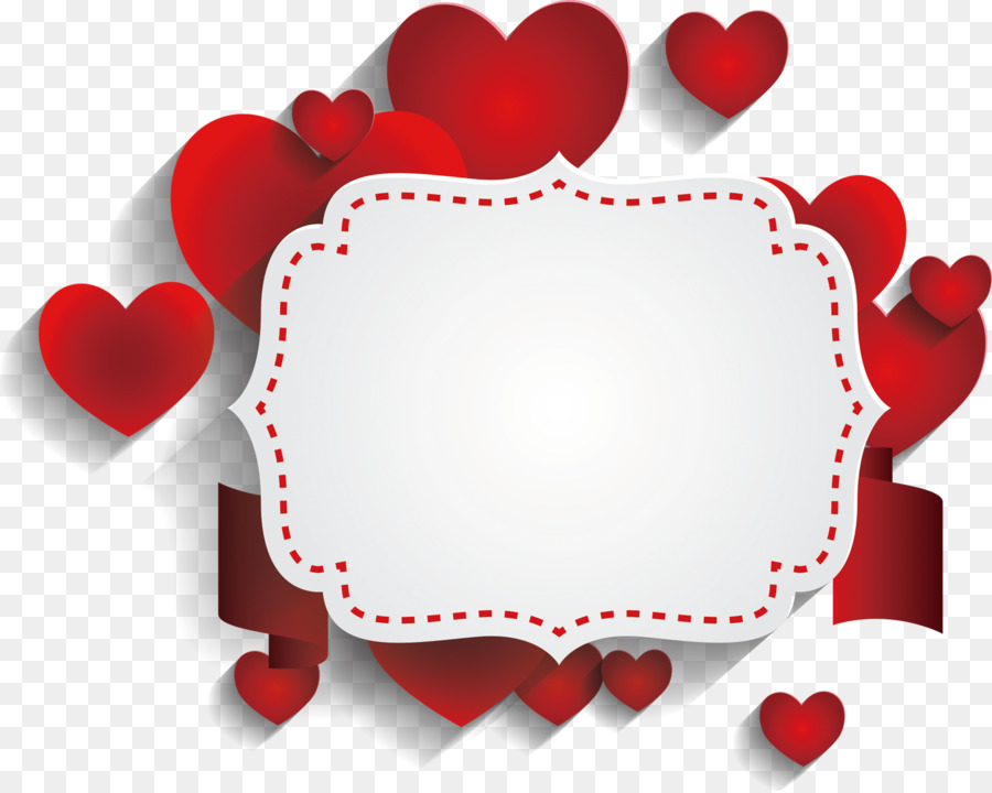 Valentine\u0027s Day Flyer Heart - Romantic text decoration png download