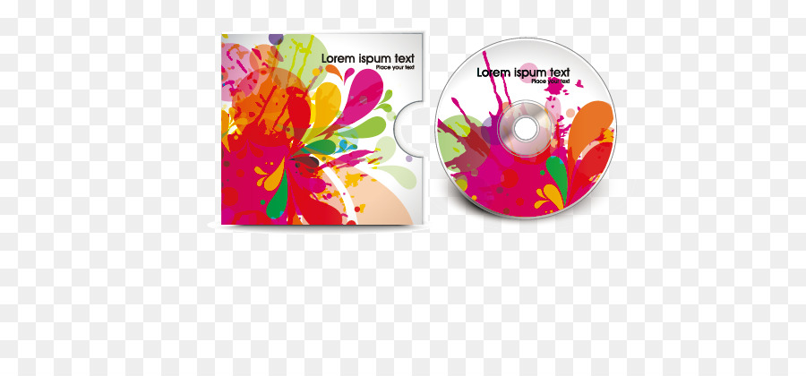 Compact disc Template DVD - CD cover Vector material png download