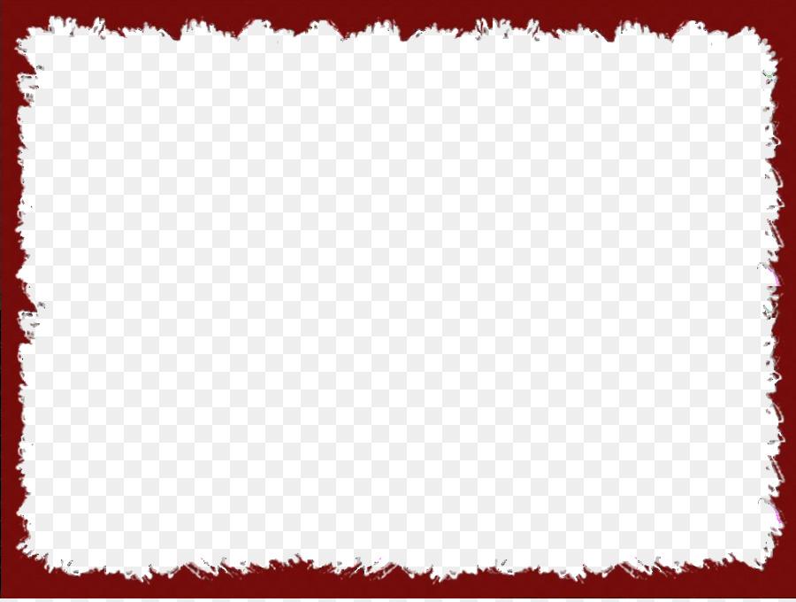 Picture frame Clip art - Red Border Frame PNG Transparent Image png