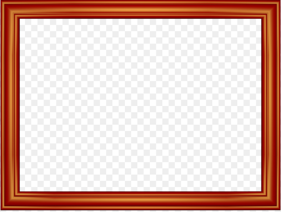 Chess Window Picture frame Square Pattern - Red Border Frame