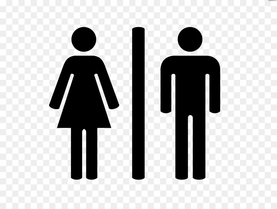 Bathroom Public toilet Male Sign - Free Printable Restroom Signs png