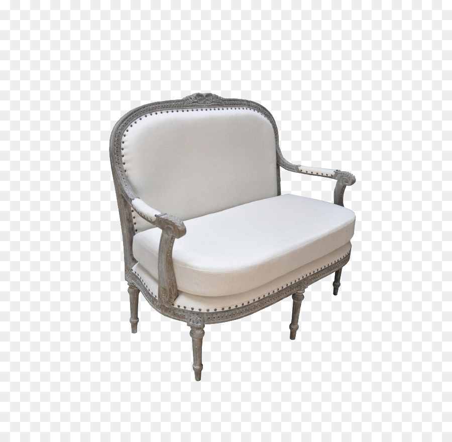 Couch Shabby Chic Chair Couch Loveseat Bench Shabby Chic White Chair Png Download