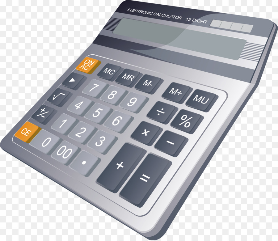 Credit card Finance Investment Bank - A calculator png download