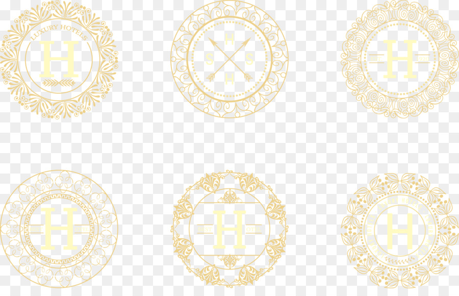 Yellow Pattern - Golden Palace retro texture png download - 2023