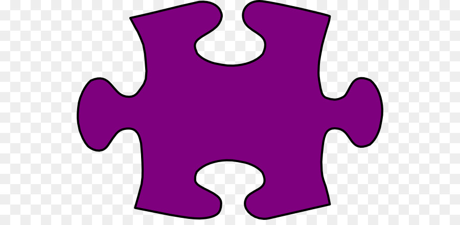 Jigsaw puzzle Clip art - Large Puzzle Piece Template png download - puzzle pieces template