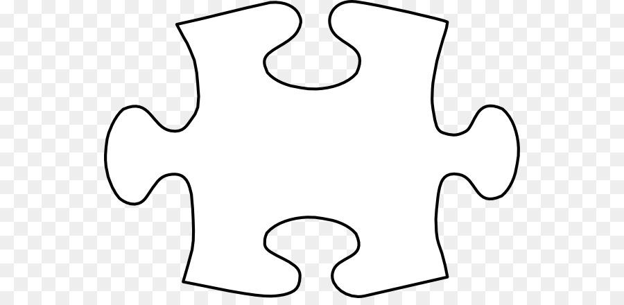 Jigsaw puzzle Tangram Template Clip art - Large Puzzle Piece
