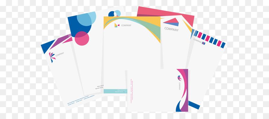 Paper Letterhead Printing Envelope Business card - Vector envelope - letterhead and envelope design