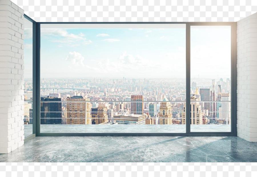 Loft Window Office Room Stock photography - Building floor windows