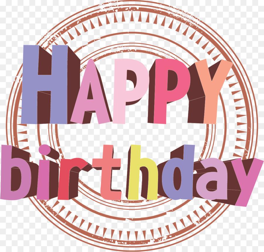 Birthday cake Happy Birthday to You Clip art - happybirthday word