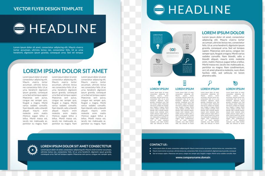 Flyer Brochure Page layout - PPT chart png download - 5356*3506