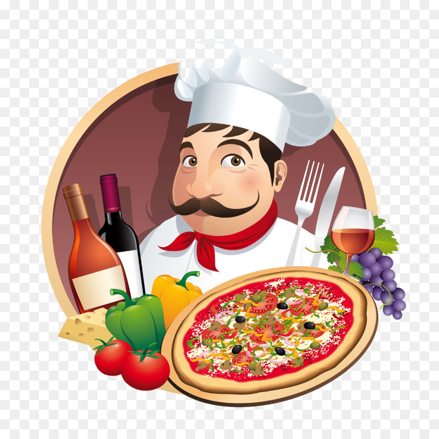 Poster Cuisine Pizza Take Out Chef Restaurant Pizza Chef Poster Png Download