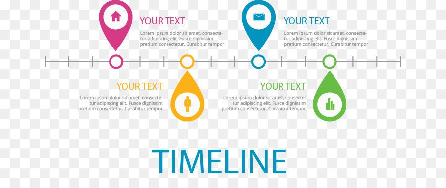 Timeline Microsoft PowerPoint Presentation slide Template - Flat