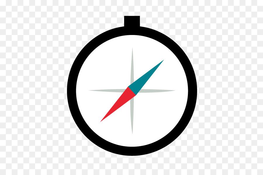 Compass Flat design Clip art - Flat compass vector material png