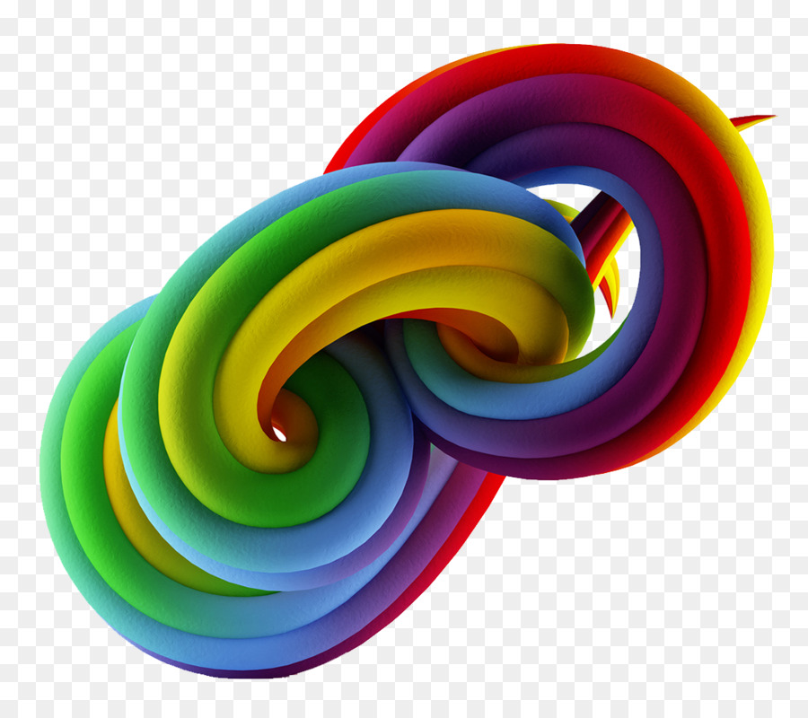American Institute of Graphic Arts - Rainbow line pattern png