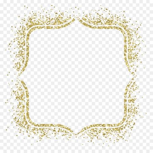 Medium Crop Of Gold Glitter Border