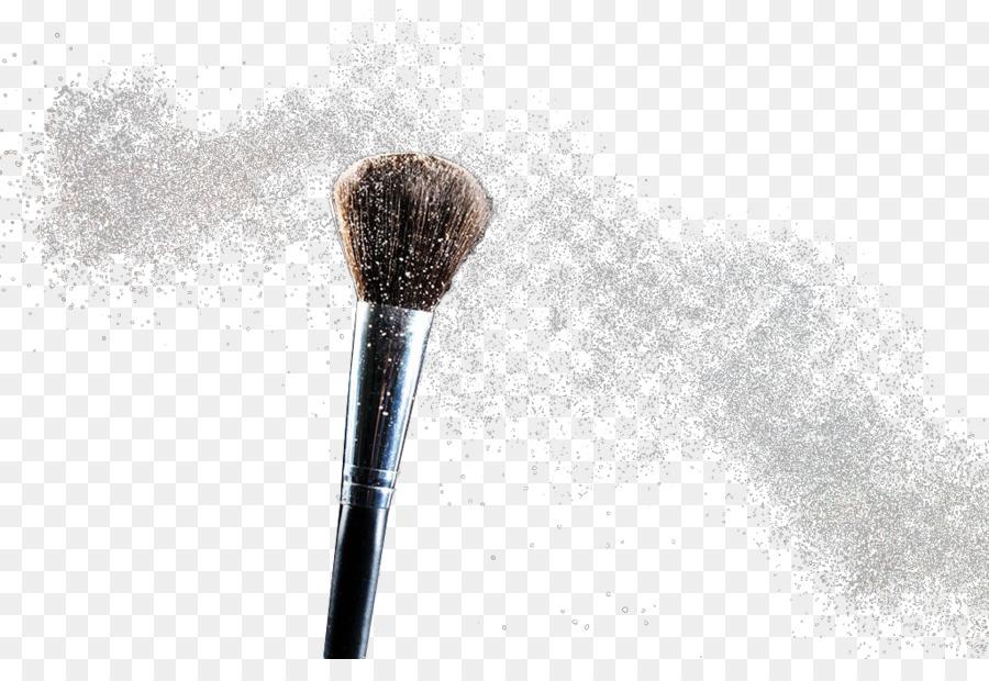 Brush Face Powder Cosmetics Makeup Powder Png Download