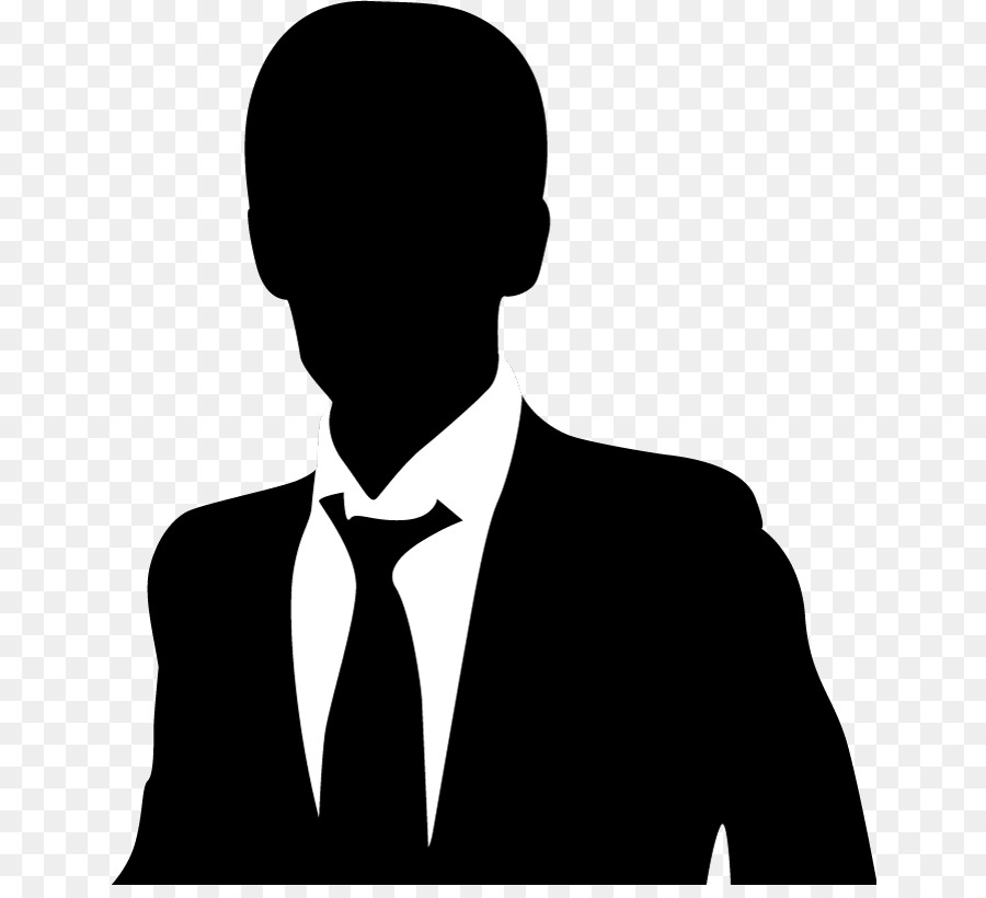 Businessperson Silhouette Company - Vector Business Profile png