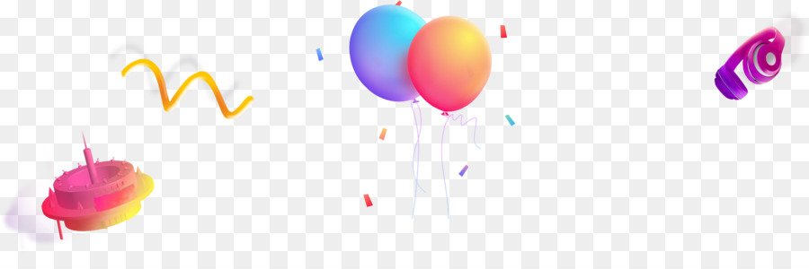 Graphic design Balloon - Colorful balloons floating UFO png download