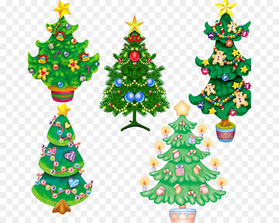 Christmas tree - Christmas tree psd layered material free download