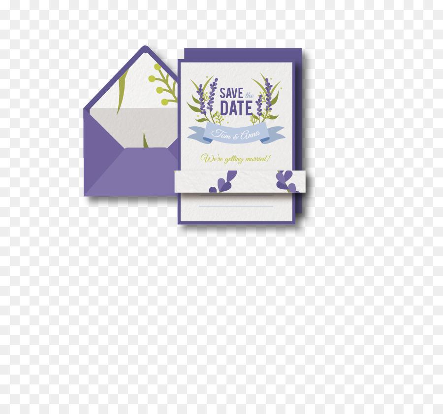 Purple Letterhead - Vector painted envelopes, letterheads png - birthday letterhead