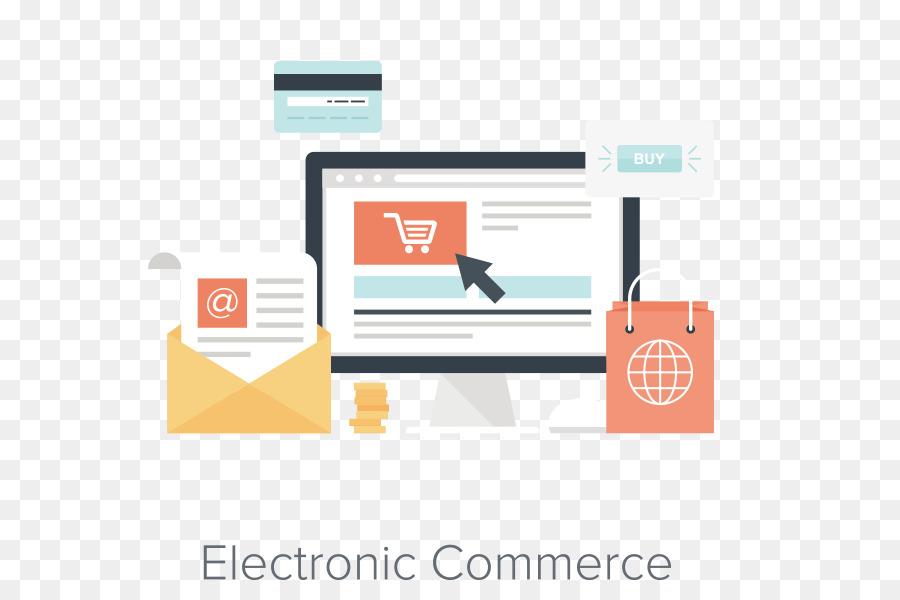 Web development E-commerce Online shopping Website Icon - Vector PPT