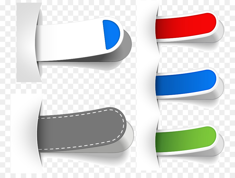 Color Royalty-free Tag - Color label design material png download
