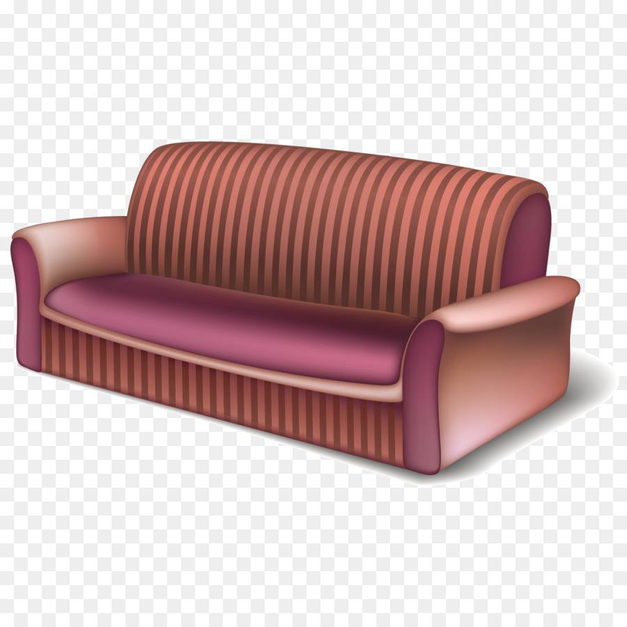 Sofa Set Vector Png Living Room Bedroom Furniture Vector Striped Sofa Png Download