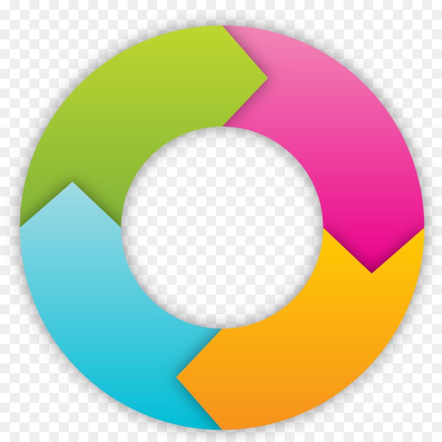 3d Curved Wallpaper Circle Arrow Vector Circular Arrow Png Download 2500