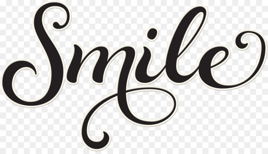 Cursive Word Handwriting Clip art - Smile Word Cliparts png download - word clip art