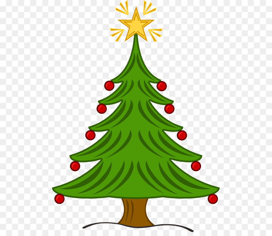 Christmas tree Clip art - Christmas Tree Free Clipart png download