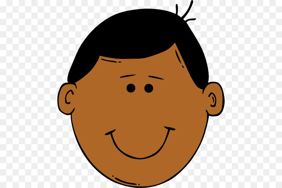 Face Boy Smiley Clip art - Cartoon Faces Cliparts png download - 534