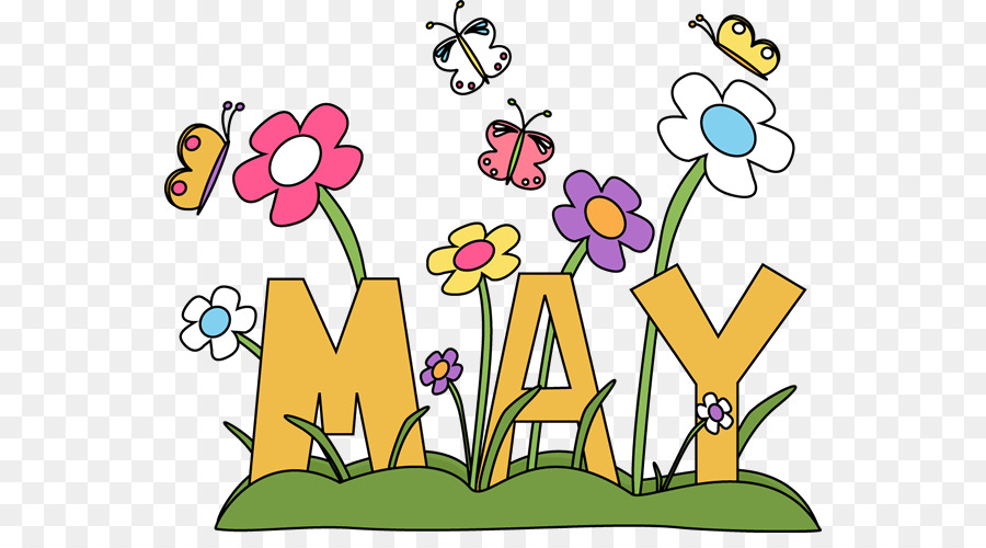 May Art Microsoft Word Clip art - Monthly Teacher Cliparts png