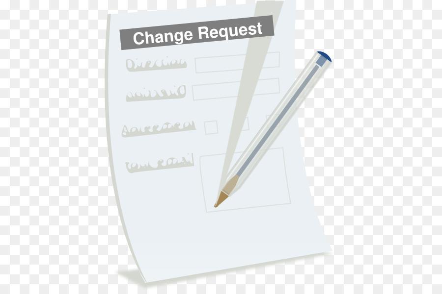 Form Paper Change request Clip art - Changes Cliparts png download