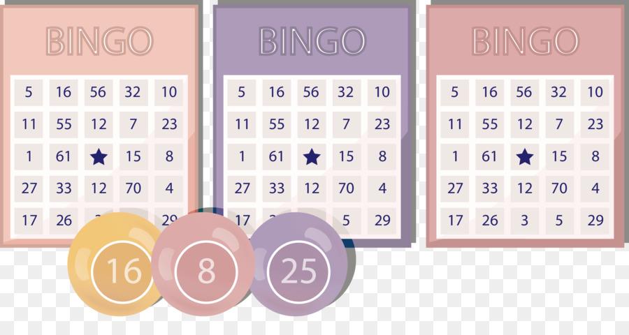 Bingo card Lottery Illustration - Bingo cards vector illustration