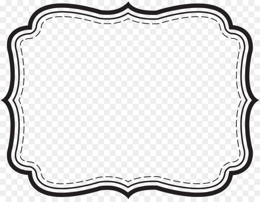 Template Label Microsoft Word Printing - Label Border Cliparts png - free microsoft word border templates