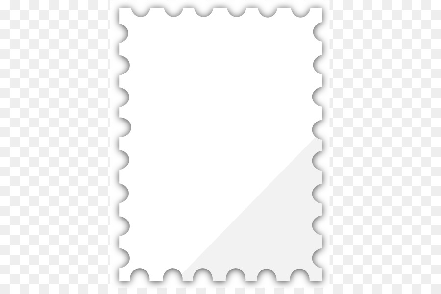 Postage Stamps Mail Rubber stamp Clip art - Blank Postage Stamp - stamp template