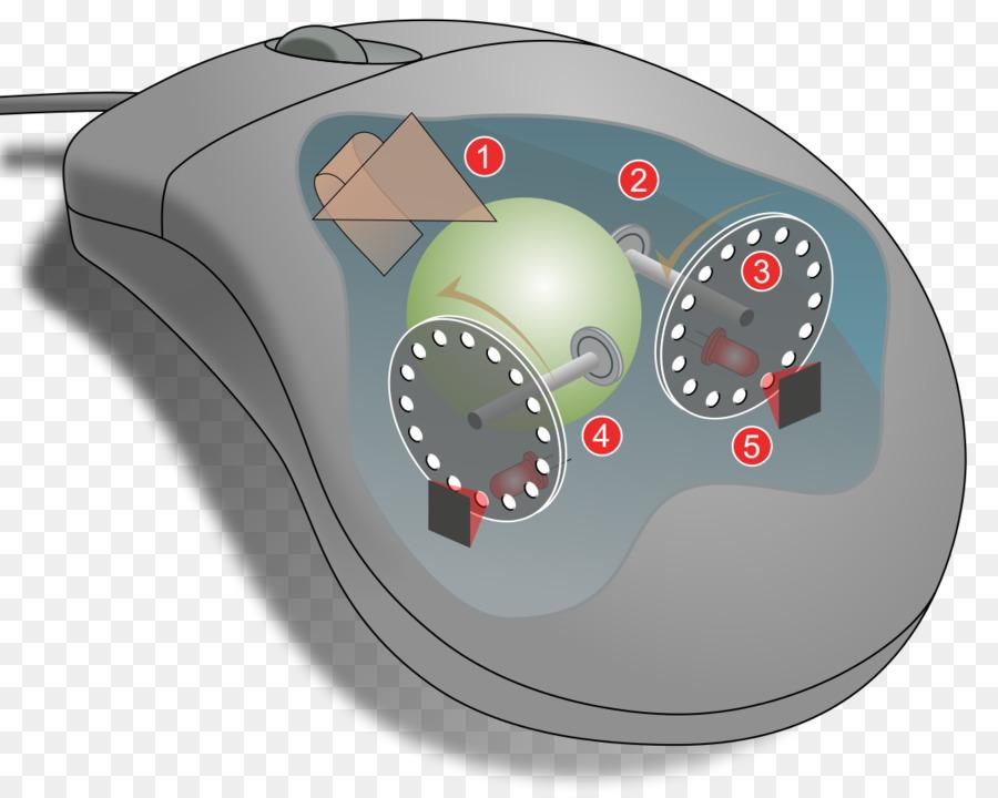 Computer mouse Wiring diagram Optical mouse Sensor - Computer Mouse