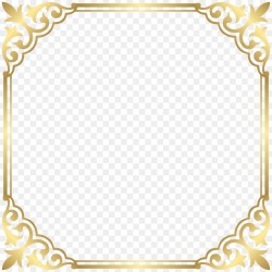 Small Crop Of Gold Picture Frames