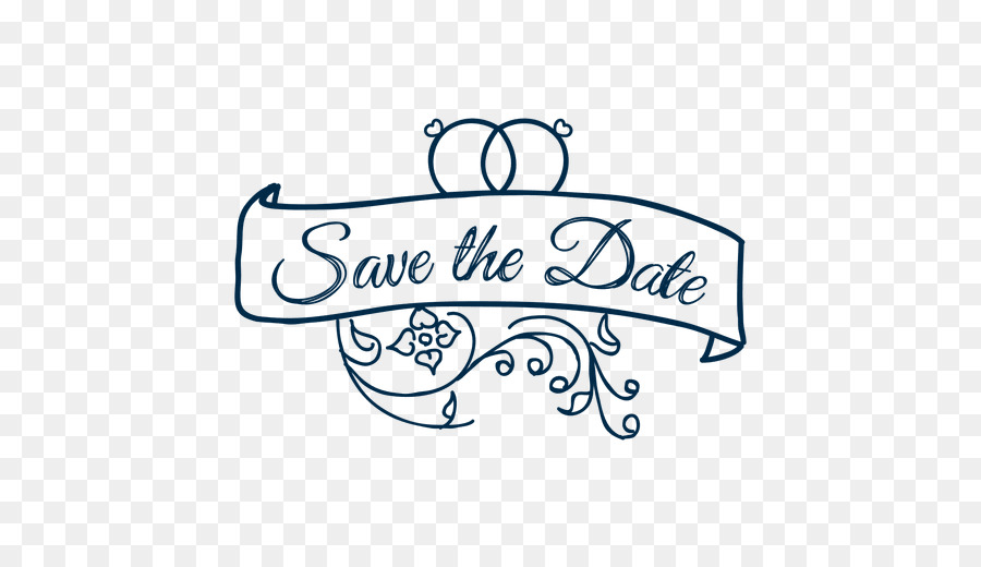 Wedding Save the date Clip art - wedding vector png download - 512 - free wedding save the dates