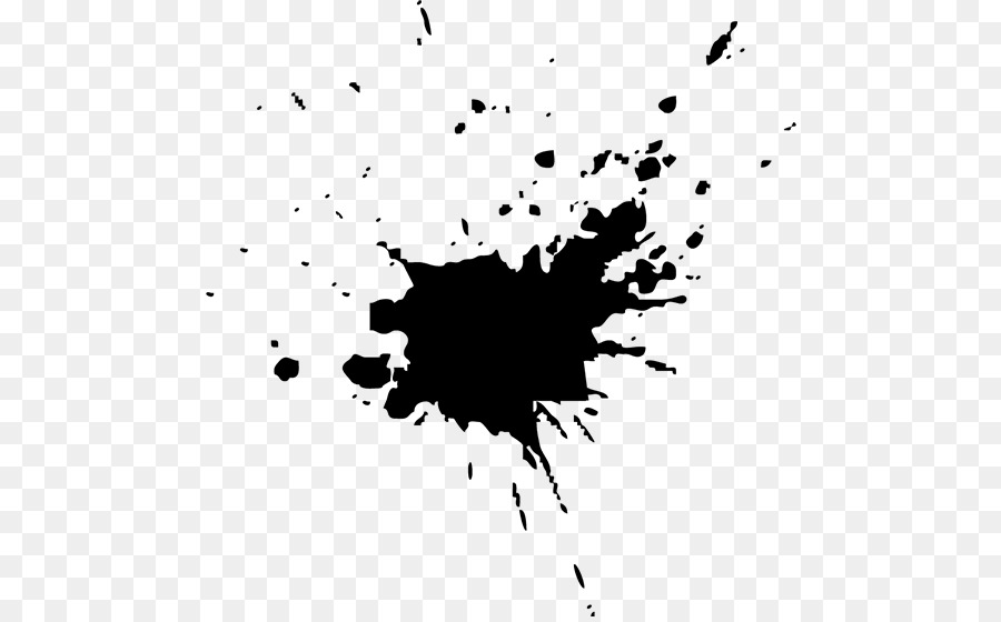Black And White Leaf Wallpaper Paper Ink Blot Test Rorschach Test Stain Ink Png
