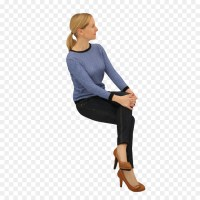 Sitting Woman Chair Standing - sitting man png download ...
