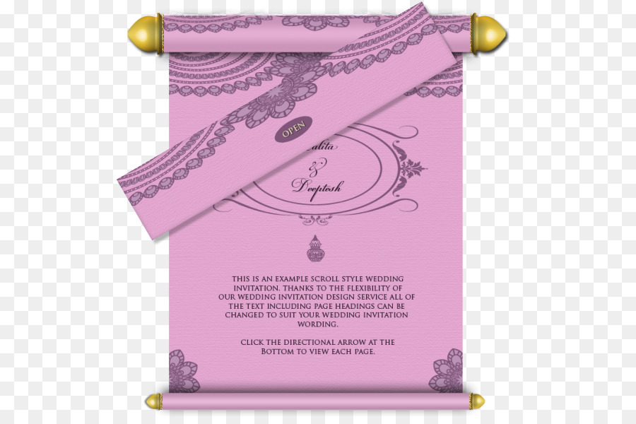 Wedding invitation Paper Email Marriage - wedding card png download