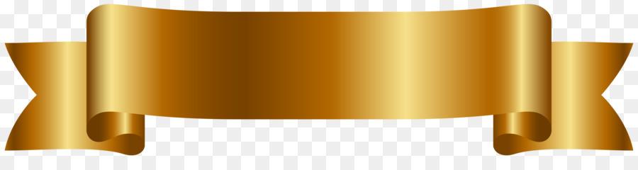 Download Cute Images For Wallpaper Web Banner Ribbon Clip Art Golden Banner Cliparts Png