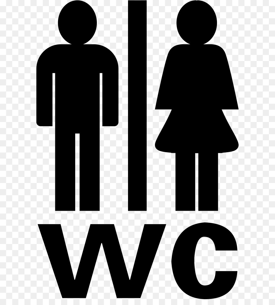 Wc Symbol Logo Toilet Computer Icons Clip Art - Wc Png Download