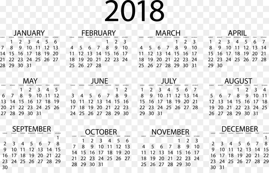 2018 MINI Cooper Calendar Time Template - calendar 2018 png download
