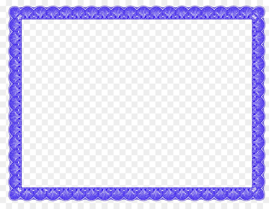 Academic certificate Template Picture Frames Clip art - certificate