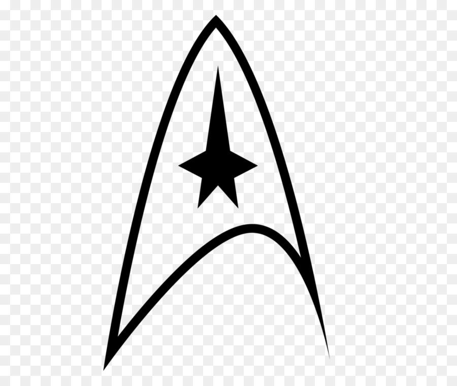 Logo Star Trek Starfleet Symbol - decal png download - 1024*860