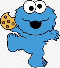 Small Of Cookie Monster Cookies
